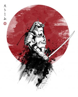 T-shirt Star Wars - Storm Samurai